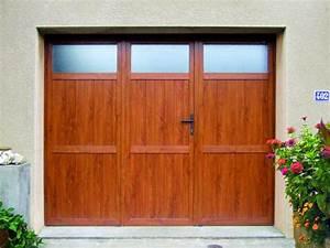 porte de garage battante pvc sur mesure devis gratuit With porte de garage enroulable avec porte d entrée pvc avec volet roulant
