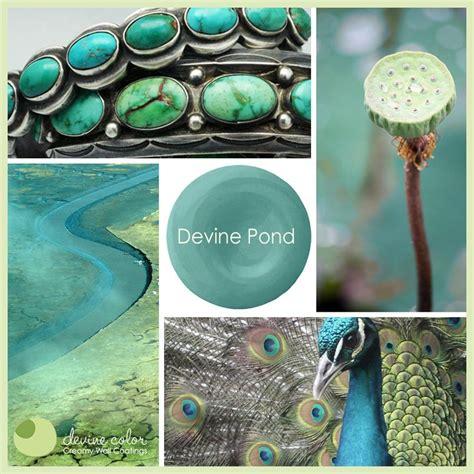 devine pond color inspiration devinecolor aqua