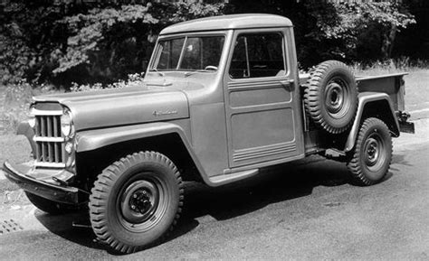 visual history  jeep pickup trucks    today