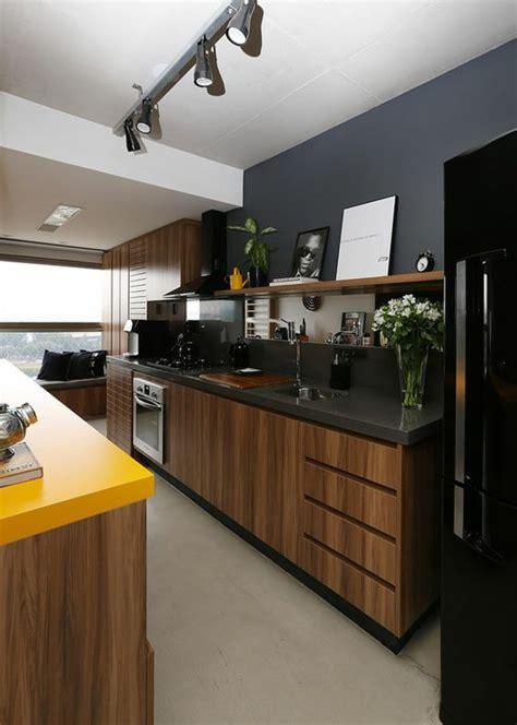cuisine jaune et noir 1001 idées pour cuisine des conseils comment l 39 aménager selon les tendances