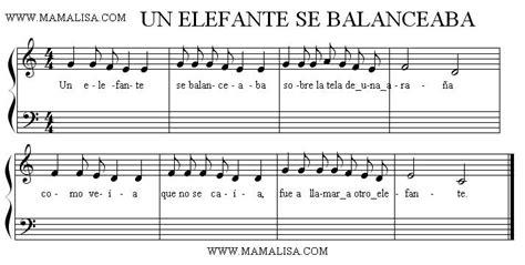 elefante se balanceaba canciones infantiles espanolas