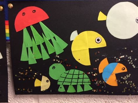 february art fraction fish crossmahon national school