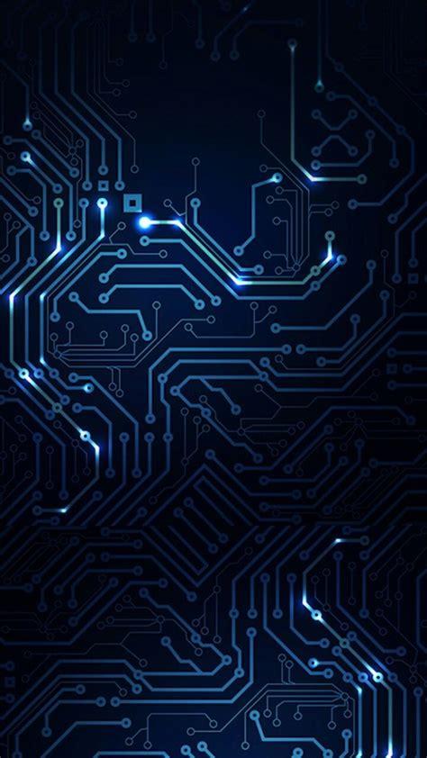 circuitos tecno   fondo de pantalla