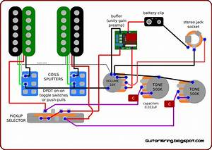 B Guitar Wiring Diagram