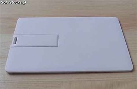 Pas Cher Blanc Carte De Crédit Usb 4 G Flash Drive