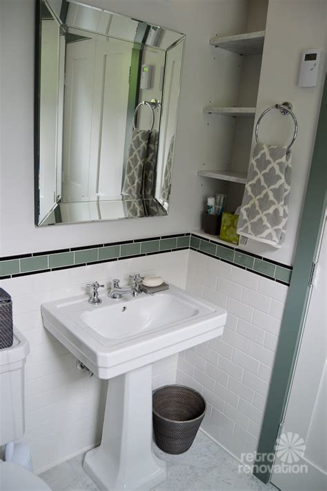 1930s bathroom ideas amy s 1930s bathroom remodel classic and elegant retro renovation