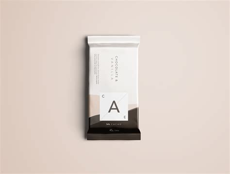 So, if you're working with chocolate bar packaging, you should not miss downloading this free chocolate bar mockup in psd. Chocolate Bar Mockup - Photoshop PSD on Behance