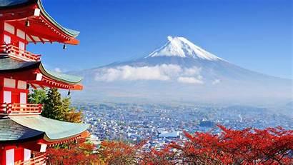 Japan Fuji Nature Mount Building Asian Architecture