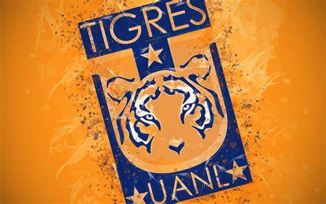 Herunterladen hintergrundbild tigres uanl, 4k, malen ...