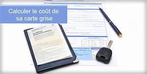Changement De Proprietaire Carte Grise : co t carte grise ~ Medecine-chirurgie-esthetiques.com Avis de Voitures