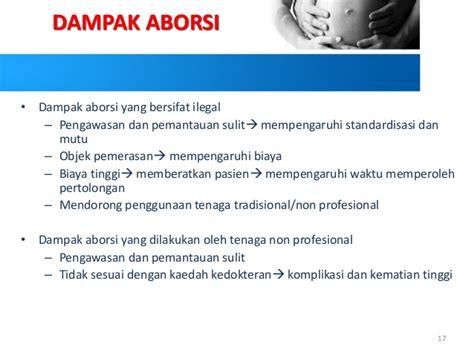 Biaya Aborsi Ilegal Dak Aborsi Dan Kesehatan