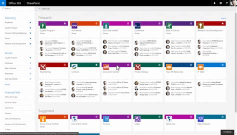 turn on sharepoint online site templates easily create sharepoint team sites in office 365
