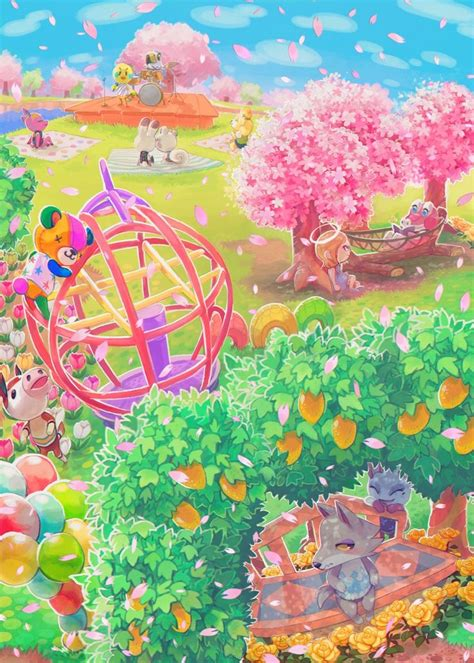 Animal Crossing New Leaf Wallpaper - animal crossing new leaf background 6 background check all