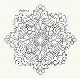 Coloring Lace Painting Mandala Adult sketch template