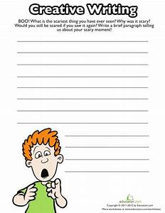 4th Grade Halloween Writing Prompt Worksheets ...