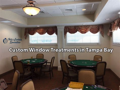 custom window treatments  tampa bay curtains shades