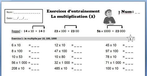 evaluation ce2 table de multiplication s 233 quence compl 232 te sur la multiplication non d 233 cimale pour le cycle 3 journal d une pe ordinaire