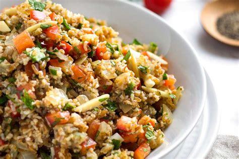 cuisiner boulgour salade de boulgour à l 39 orange manger méditerranéen