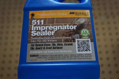 miracle sealants 511 impregnator sealer qt bourget bros