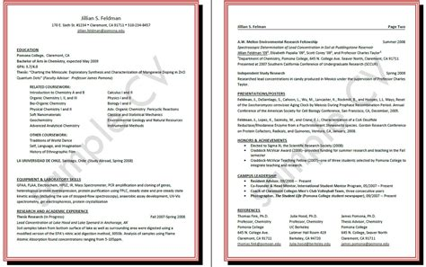 how to make cv resume samples how to write a curriculum vitae pomona college in