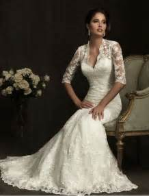 vintage lace wedding dresses with sleeves vintage lace wedding dress with 3 4 sleevescherry cherry