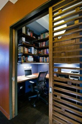 Top 40 Best Closet Office Ideas - Small Work Space Designs