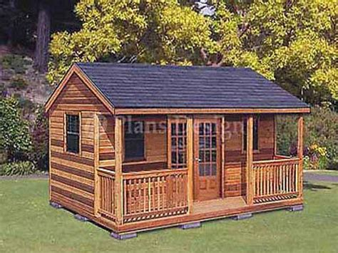 16 X 16 Cabin Plans Shed Cabin Guest House Plans, Cabin