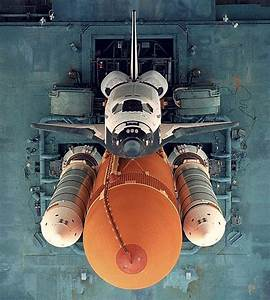 Space shuttle platform, top view   ground control to major ...