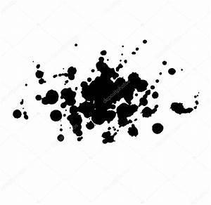 Tache De Couleur Peinture Fond Blanc : abstrait aquarelle aquarelle dessin s la main goutte noire splatter tache art peinture sur ~ Melissatoandfro.com Idées de Décoration