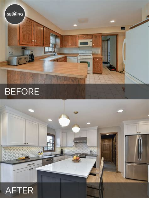 Justin Carinas Kitchen Before After Pictures Home