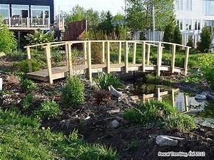 pont japonais de jardin pas cher construire une With plan de bassin de jardin 3 construire un pont de jardin etapes de construction plan