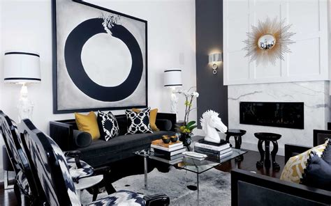 and black living room 30 black white living rooms that work their monochrome magic White