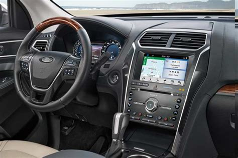 ford explorer suv technology features fordcom