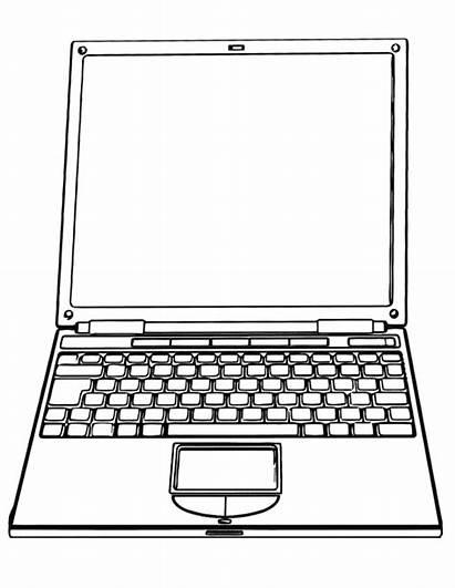 Laptop Coloring Pages Laptop2 Coloringway