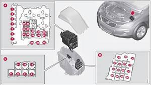 Volvo Xc60  Engine Compartment - Fuses