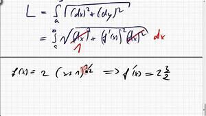Bogenlänge Einer Kurve Berechnen : 25b 1 bogenl nge einer funktionskurve beispiel youtube ~ Themetempest.com Abrechnung