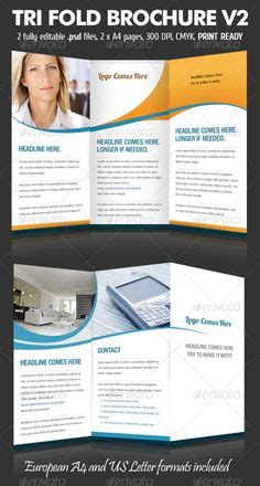 Graphicriver Brochure Tri Fold A4 Series 1 1000 Images About Print Templates On Flyers