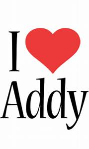 Addy Logo | Name Logo Generator - Kiddo, I Love, Colors Style