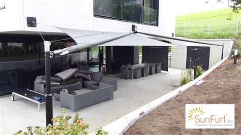 Terrassen Sonnenschutz Elektrisch by Sonnensegel Terrasse Elektrisch
