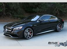 Mercedes SClass Coupe with 22in Forgiato GTR Wheels