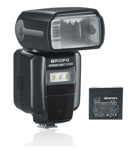 triopo lithium bare bulb flashes speedlights introduced