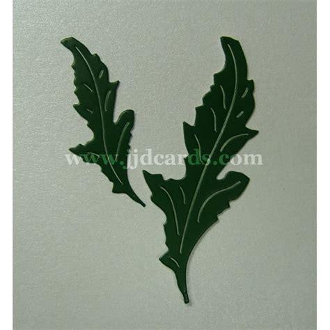 poppy leaves britannia dies poppy leaves 104