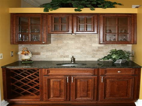 tile floor  maple cabinets kitchen backsplash ideas