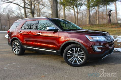 2016 Explorer Review by 2016 Ford Explorer Review Carsquare