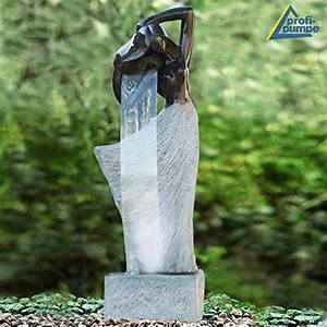garten wasserfalle bachlaufe angebote online finden With französischer balkon mit gartenbrunnen garten und zubehör
