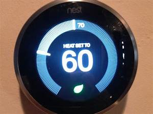 Nest Learning Thermostat 3rd Generation Stuck On