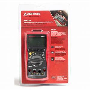 Amprobe 4018651 Am Manual Ranging