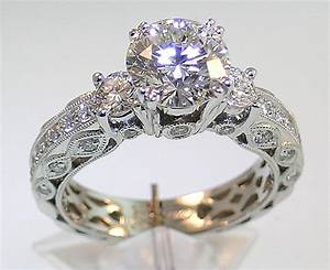 the classical aura of vintage diamond wedding rings With vintage look wedding rings
