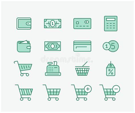 shopping basket  food stock vector illustration