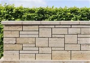 Natursteinmauern Im Garten : natursteinmauern 01 fertigmauer aus travertin ~ Sanjose-hotels-ca.com Haus und Dekorationen